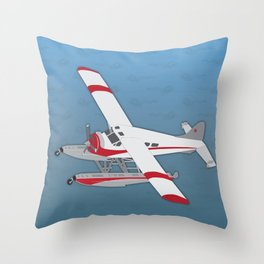 By Air or By Sea Throw Pillow