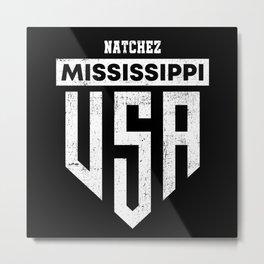 Natchez Mississippi Metal Print