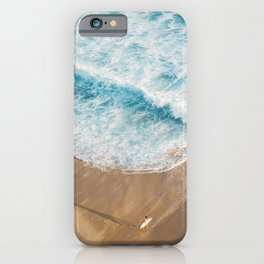 The Surfer and The Ocean iPhone Case