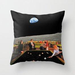 Cosmic Games Throw Pillow
