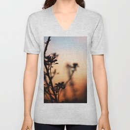Plant and sky Unisex V-Neck