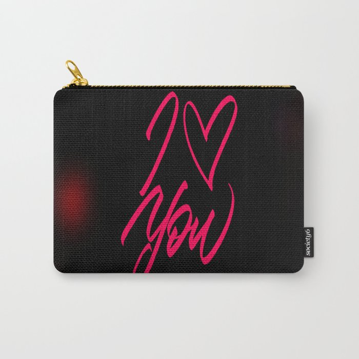 Who loves you? Carry-All Pouch