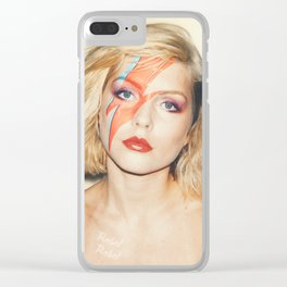 Debbie Z Clear iPhone Case