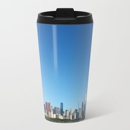 Chicago Skyline With Sears Tower Travel Mug