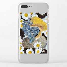 Van flowers Clear iPhone Case