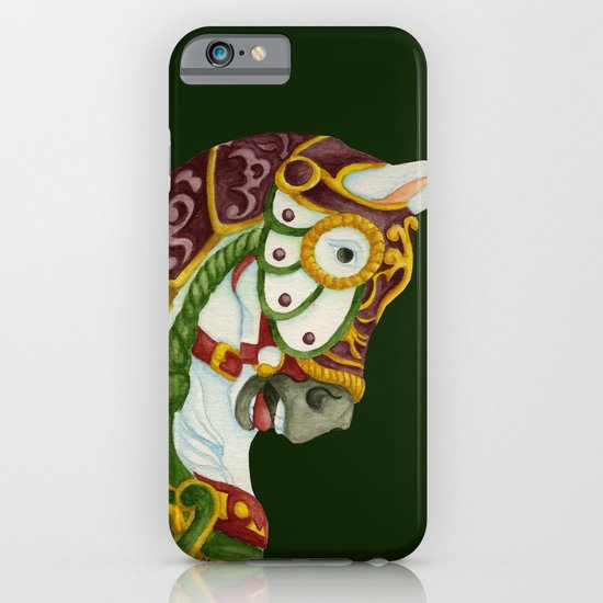 Carousel Horse - Clyde iPhone & iPod Case