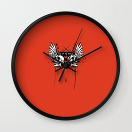 IT'S IN MY BONES Wall Clock