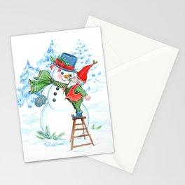 Frosty Nose Stationery Cards