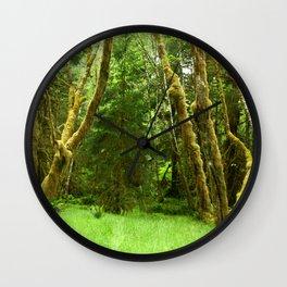 Lush Rain Forest Wall Clock
