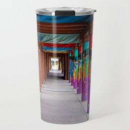 IAIA Museum Porch Santa Fe NM Travel Mug