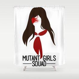 Mutant Girls Squad 2 Shower Curtain