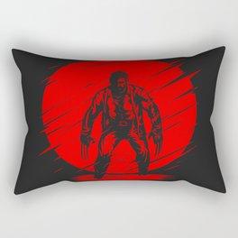 Red Logan Rectangular Pillow