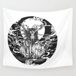 DREAMTIME - WHITE Wall Tapestry