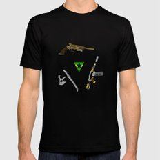 the weapons of firefly X-LARGE Black Mens Fitted Tee