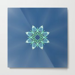 Skyflower Metal Print