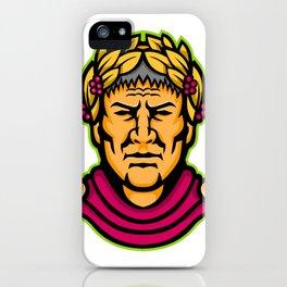 Gaius Julius Caesar Mascot iPhone Case