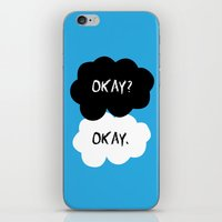 okay iPhone & iPod Skins featuring Okay by alboradas