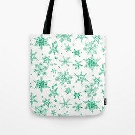 Snow Flakes 03 Tote Bag