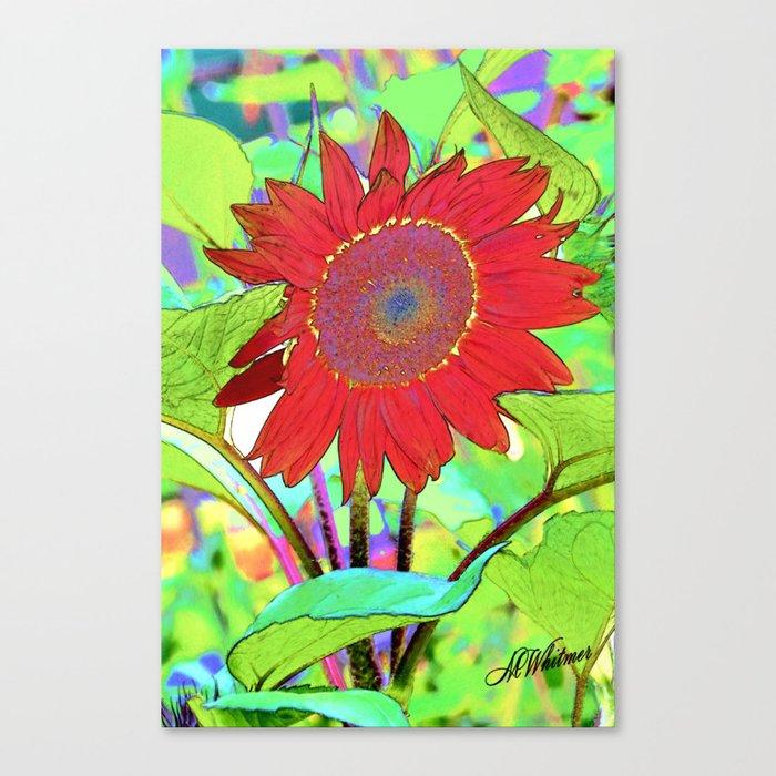 Sunflower Brillance Canvas Print