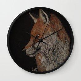 Mr.Fox Wall Clock