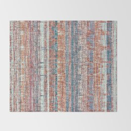Abstract background textile Throw Blanket