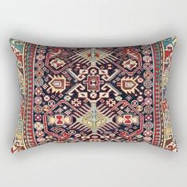 Akstafa Southeast Caucasus Niche Rug Print Rectangular Pillow