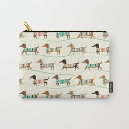 Dachshunds on Parade Carry-All Pouch