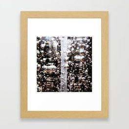 Sanitized Bubbles Framed Art Print