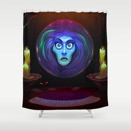 Madam Leota Shower Curtain