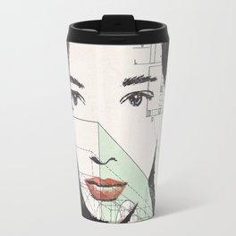 Nadezhda -Ink drawing Travel Mug