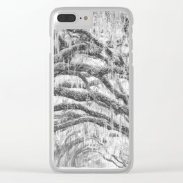 Arching Limbs Clear iPhone Case