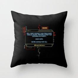 The Signal Throw Pillow