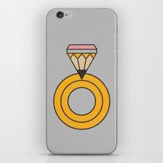 Draw Ring iPhone & iPod Skin