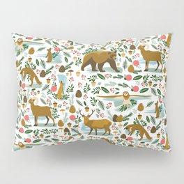 Rocky Mountain Animals Pillow Sham
