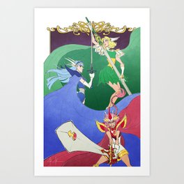 Knights of Rayearth Art Print