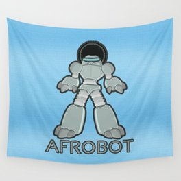 Afrobot Wall Tapestry