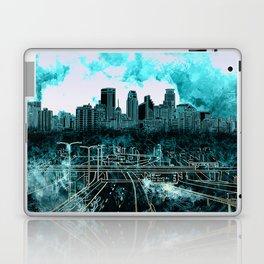 minneapolis city skyline Laptop & iPad Skin