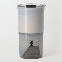 Mermaid at Sunset - Landscape Photography Travel Mug