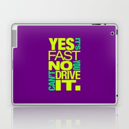 Yes it's fast No you can't drive it v7 HQvector Laptop & iPad Skin