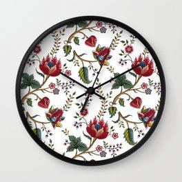 bohemian pattern Wall Clock