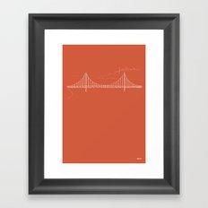 San Francisco by Friztin Framed Art Print