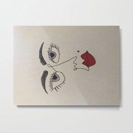 signature mole Metal Print