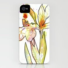 Queen Flower iPhone (4, 4s) Slim Case