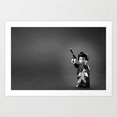 Special Agent L Art Print