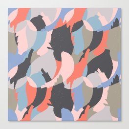 Modern abstract print Canvas Print