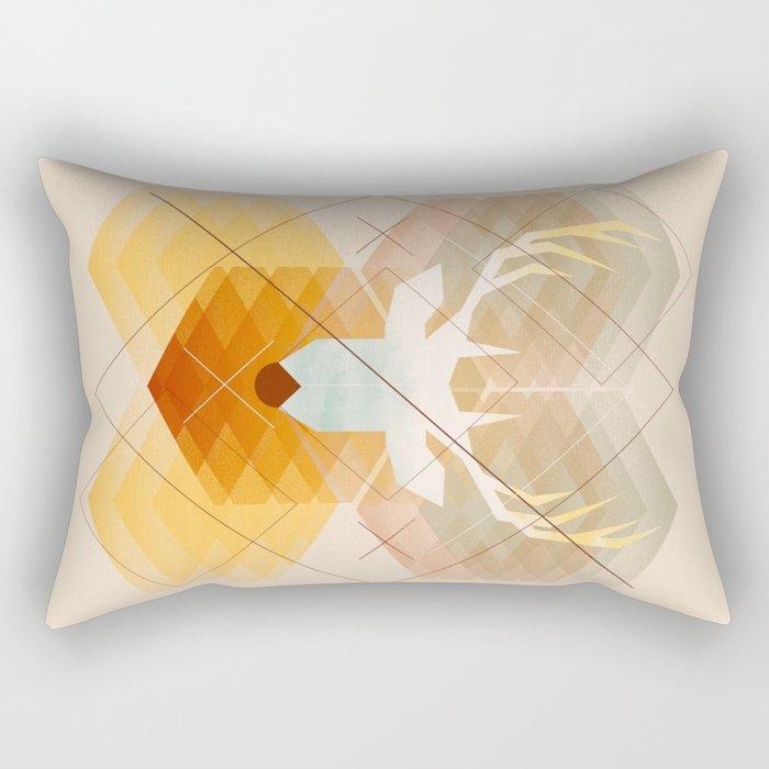 First Winter Rectangular Pillow