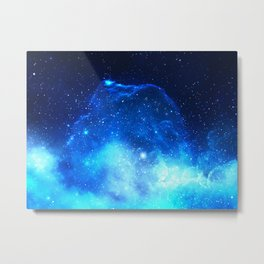 Jelly Nebula Metal Print