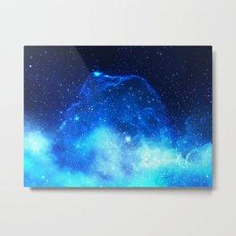 Jelly Nebula Metal Print