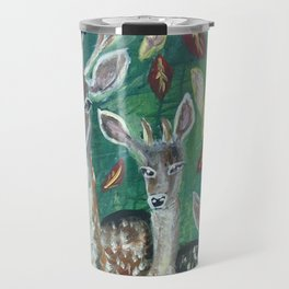 stag and his familly Travel Mug