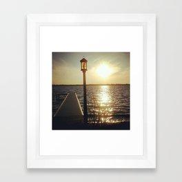 Lake View II Framed Art Print